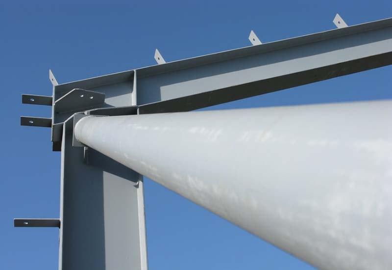 Foto eines Stahlträgers
